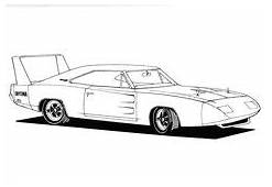 Fast And Furious Coloring Pages  Race Car