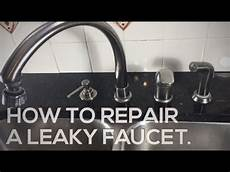 how to fix a leaky delta kitchen faucet how to repair a leaky delta faucet