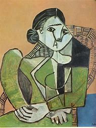 Pablo Picasso Woman Sitting