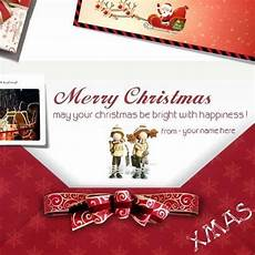 personalized ecards write name merry christmas wishes greeting card m merry