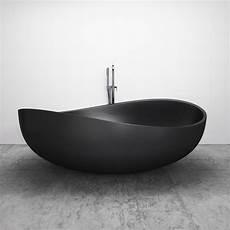 badewanne freistehend schwarz freistehende badewanne aus mineralguss wave schwarz