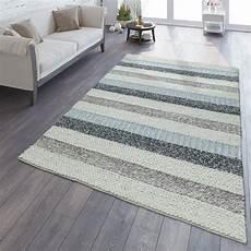 teppich natur natur teppich aus wolle gestreift grau teppichmax