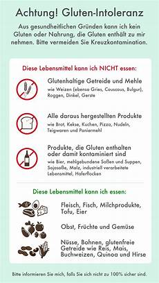 Glutenfreie Lebensmittel Liste - gluten free on the go travel cards in 10 languages