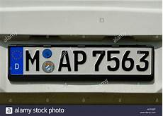 License Plate Of Germany Stockfotos License Plate Of