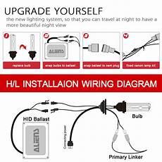 55w hid xenon headlight conversion kit h1 h3 h4 h7 h11 9005 h13 9004 9006 9007 ebay