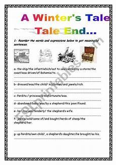 the winter s tale worksheets 20112 a winter 180 s tale tale end esl worksheet by fatma zahra