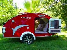 roter caretta mini caravan 1500 mini wohnwagen