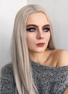 grey lace front synthetic wig lf238 wig