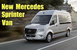 New 2019 Mercedes Sprinter More Cargo Options And
