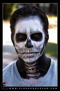 Totenkopf Schminken Mann - skull make up awesome make up