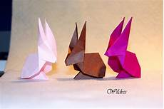 wildres faltanleitung origami hase