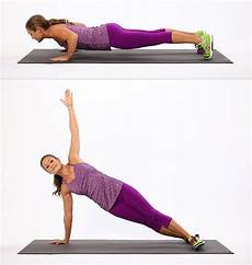 push up to side plank 25 minute cardio and strength