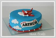 Gateau Avion Nimes Decoration Pate A Sucre 1 Gateau