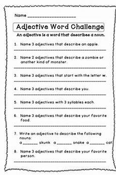15 best images of second grade adverb worksheets 6th grade prepositions worksheets adjective