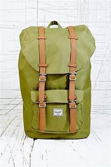 herschel supply co america backpack in green in