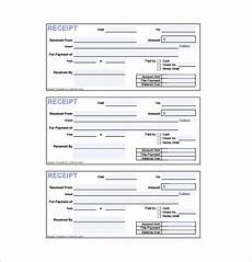 manual receipt template receipt template doc for word documents in different types