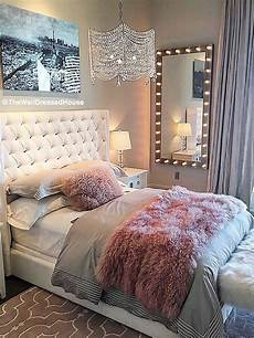 Bedroom Ideas For Pink And Grey by Pretty Pink Grey Style Bedroom Design Bedroom Design
