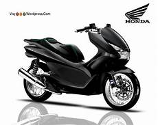 Motor Pcx Modifikasi by Design Modifikasi Skuter Honda Pcx Vixy182 S
