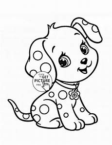 puppy coloring page for animal coloring