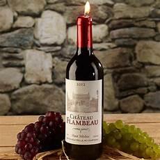 Le Aus Weinflasche - bougie en forme de bouteille de vin