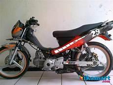 Modif Jupiter Z 2004 by Jual Yamaha Jupiter Z Tahun 2004 Modifikasi Motor