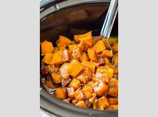 crock pot butternut squash with brown sugar and cinnamon_image