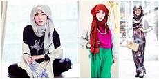 10 Gaya Modern Ala Hana Tajima Plus Tutorialnya