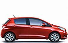 Toyota Yaris Caract 233 Ristiques De Tailles De Roues De
