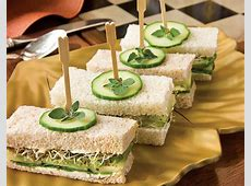 cucumber and cream cheese tea sandwiches_image