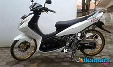 Jual Motor Nouvo Z Modifikasi by Jual Yamaha Nouvo Z 2007 Putih Modifikasi Special Motor