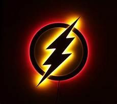the flash led illuminated superhero logo light superhero l justice league led l