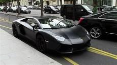 Black Matte Lamborghini Aventador In