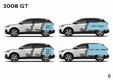 Peugeot 3008 Gt Dimensions Ext 233 Rieures Et Int 233 Rieures