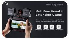 Ulanzi Wireless Charging Handheld Vlogging Cage by U Rig Lite Wireless Charging Handheld Vlogging Cage