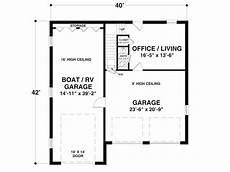 house plans with rv storage plan 007g 0013 the house plan shop