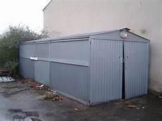 garage metal occasion garage m 233 tallique galvanis 233 bricolage jardinage maison