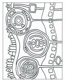Malvorlage Hundertwasser Haus Hundertwasser Malvorlagen Kunst