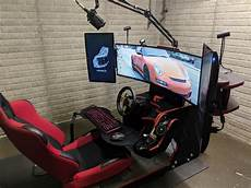 sim rig build complete for now simracing