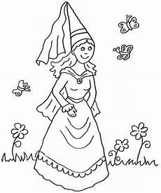 Malvorlage Prinzessin Ausmalbild Prinzessin Kostenlose Malvorlage Prinzessin