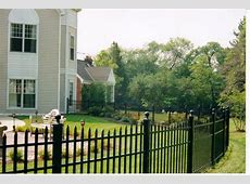 Aluminum Vs Steel Fencing   Ideas 4 Homes