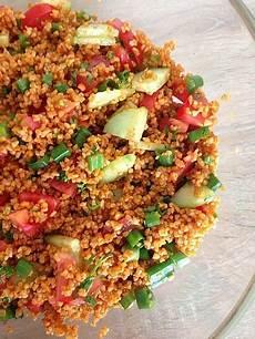Bulgursalat Rezept Türkisch - bulgur salat kisir 1 in 2019 rezepte bulgursalat und