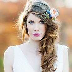 Couronne Fleurs Cheveux Mariage