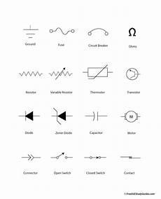 automotive electrical symbols a c chart