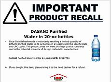 recall on aquafina water 2019,bottled water recall,bottled water recall