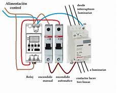 temporizador digital mas contactor luces yoreparo