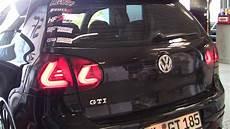 golf 5 led rückleuchten golf 5 gti dectane car dna lightbar r 252 ckleuchten