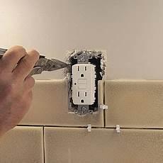 Backsplash Around Outlet