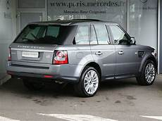 land rover d occasion land rover range rover sport i sdv6 3 0l 256ch 4x4 gris