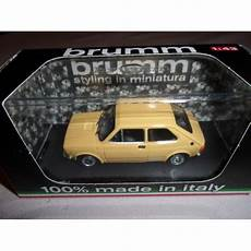 1 43 voiture miniature de collection fiat 127 jaune tahiti
