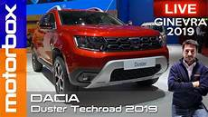 dacia duster eu neuwagen 54054 dacia duster techroad 2019 la serie speciale con nuovi